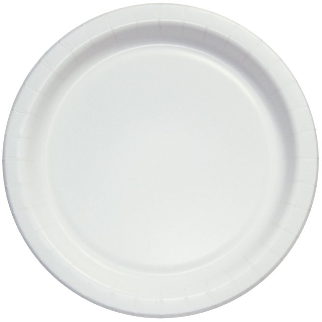 Paper plates 9'' 1000 ct